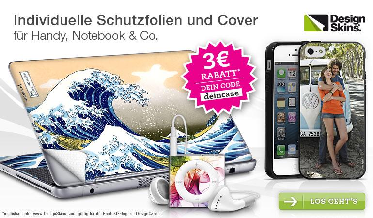 Hol dir die stylischen Design-Schutzfolien für Handy, Notebook &Co